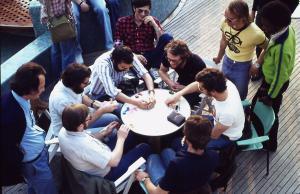 1976.05.05 Le tripot sur le bateau